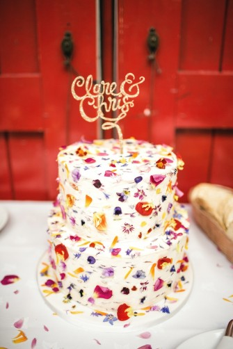 Edible petal cake - kat hill